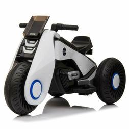 12V Electric Motorcycle Kids Ride on Cars Toy With 3 Wheels