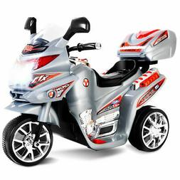 Kids Ride On Motorcycle 3 Wheel 6V Battery Powered Electric