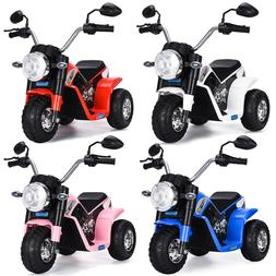 kids ride on motorcycle 6v toy battery