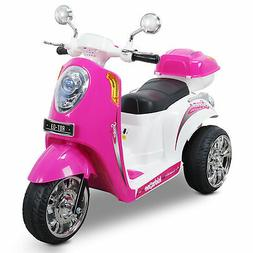 Kids Ride-on Scooter Toy Bike 3-wheel Motorbike 6V Battery P