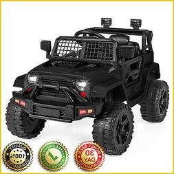 KIDS RIDE ON TRUCK POWER WHEELS Car 3 Speed 12V Battery Powe