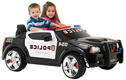 KidTrax Dodge Pursuit Police Car 12-Volt Battery Power Elect