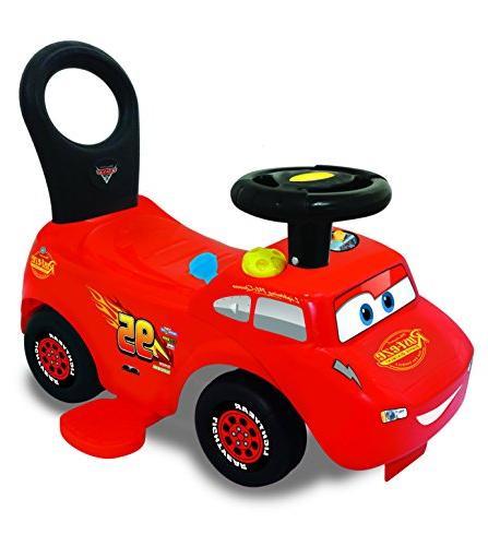 Doctor 3 in 1 Battery McQueen Go-Go-Racer Ride-On Tracks