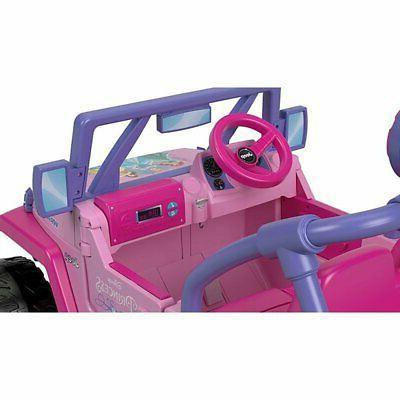 Power Wheels Volt Disney Jeep Ride-On + Battery