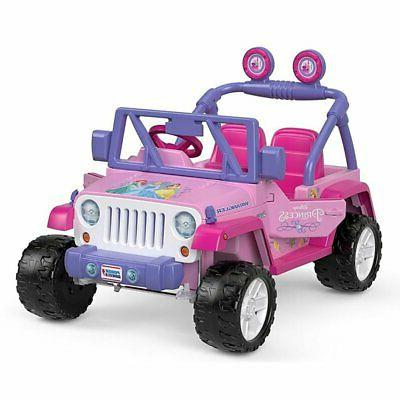 Power Wheels Disney Jeep + Replacement