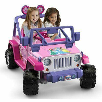 Power Wheels Disney Jeep + Battery