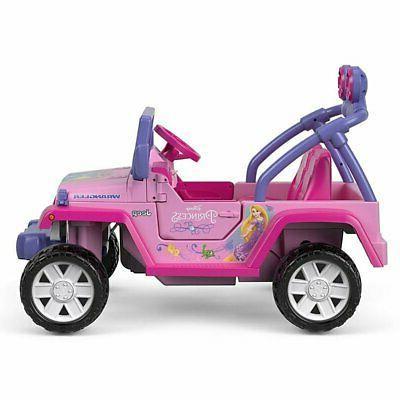 Power Disney Princess Jeep Wrangler Ride-On