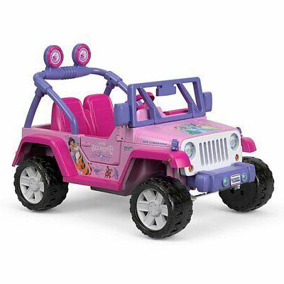 Power Wheels 12 Disney Princess Jeep +