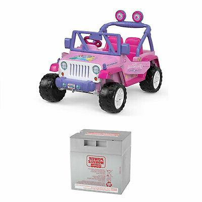 12 volt disney princess jeep wrangler ride