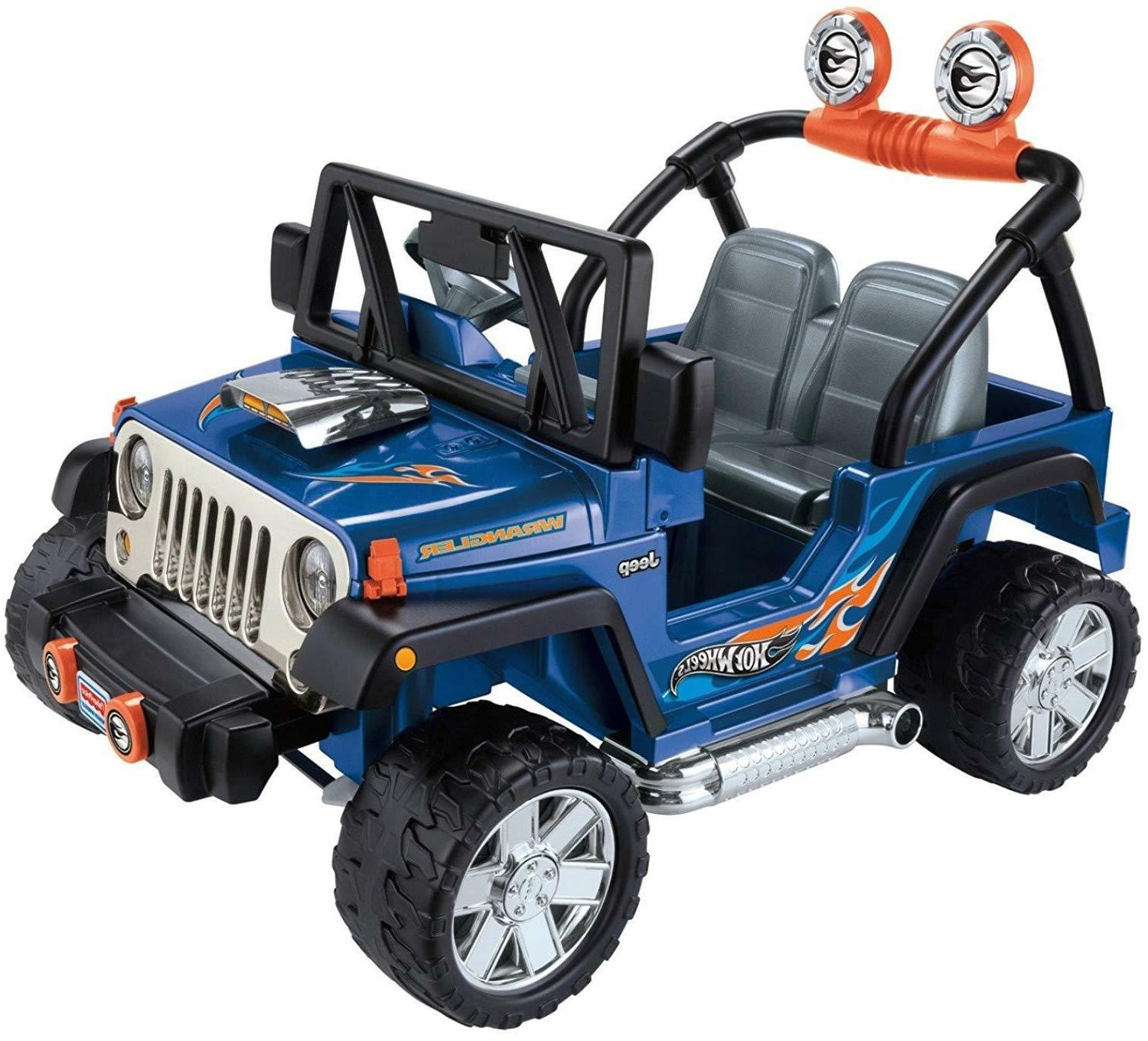 12V 2 WRANGLER ELECTRIC KIDS RIDE ON 2 SPEED/DIRECTIONS