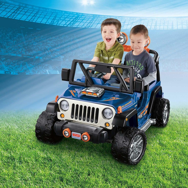 12V 2 WRANGLER KIDS ON CAR 2 SPEED/DIRECTIONS