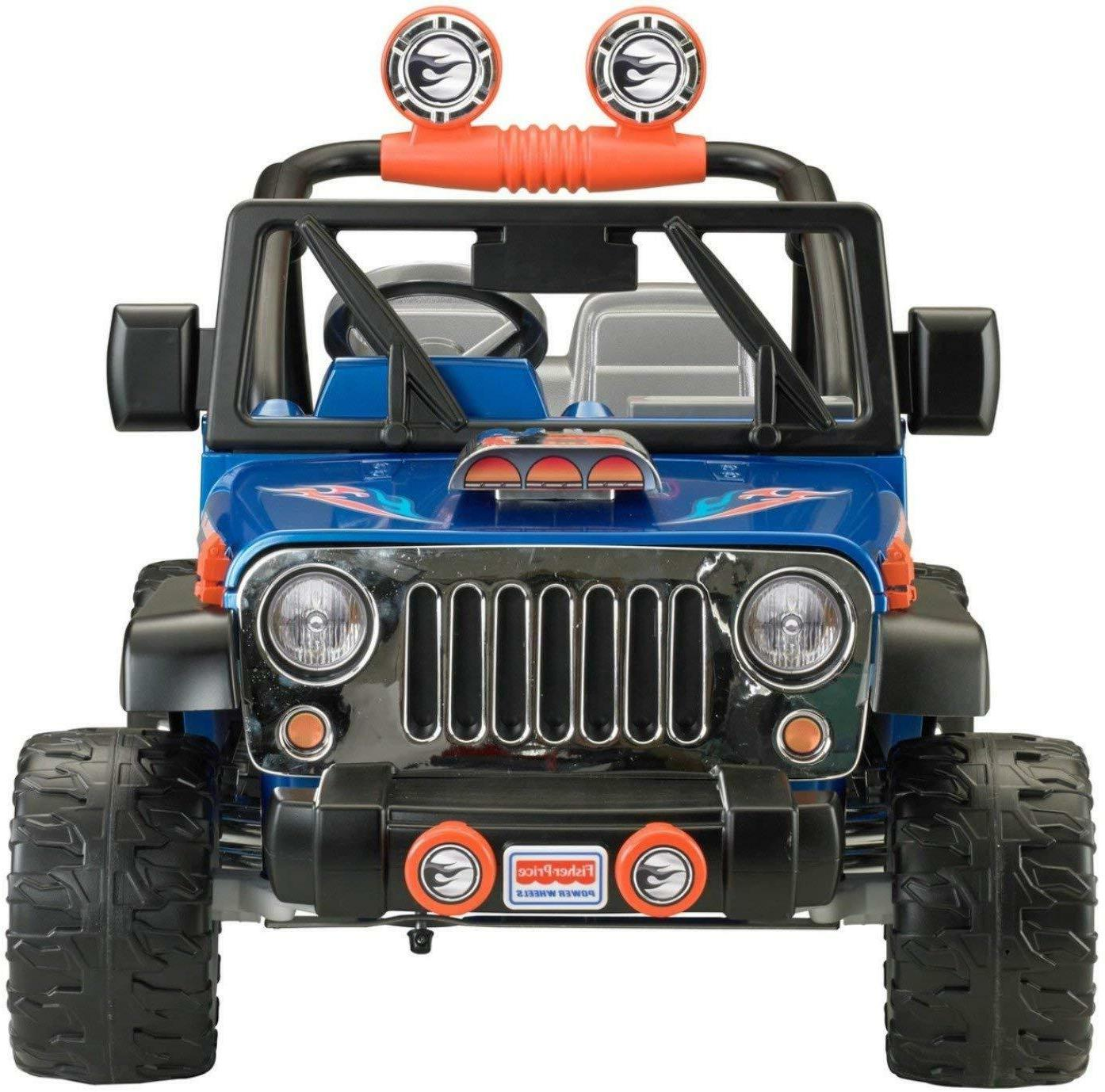 12V 2 JEEP WRANGLER KIDS ON CAR SUV 2 SPEED/DIRECTIONS