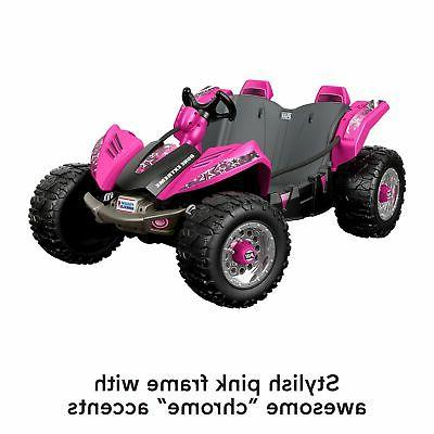 12V Racer Extreme Battery-Powered Pink