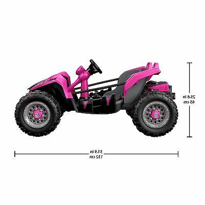 12V Power Wheels Racer Extreme Pink
