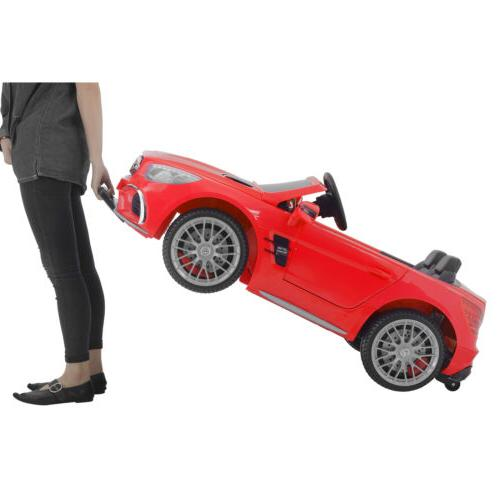 Kids Mercedes On Car Battery Power Wheels Remote Control