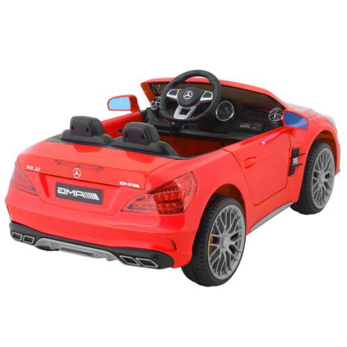 Kids Mercedes On Car Battery Power Remote Control