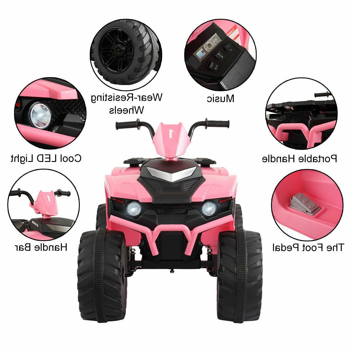 12V Ride On ATV Powered Car Toy W/