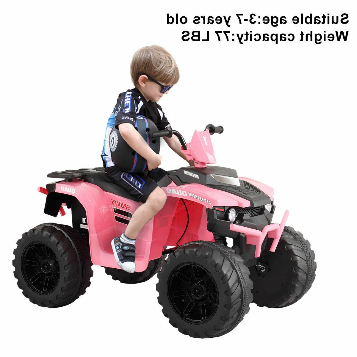12v kid ride on atv 4 wheels
