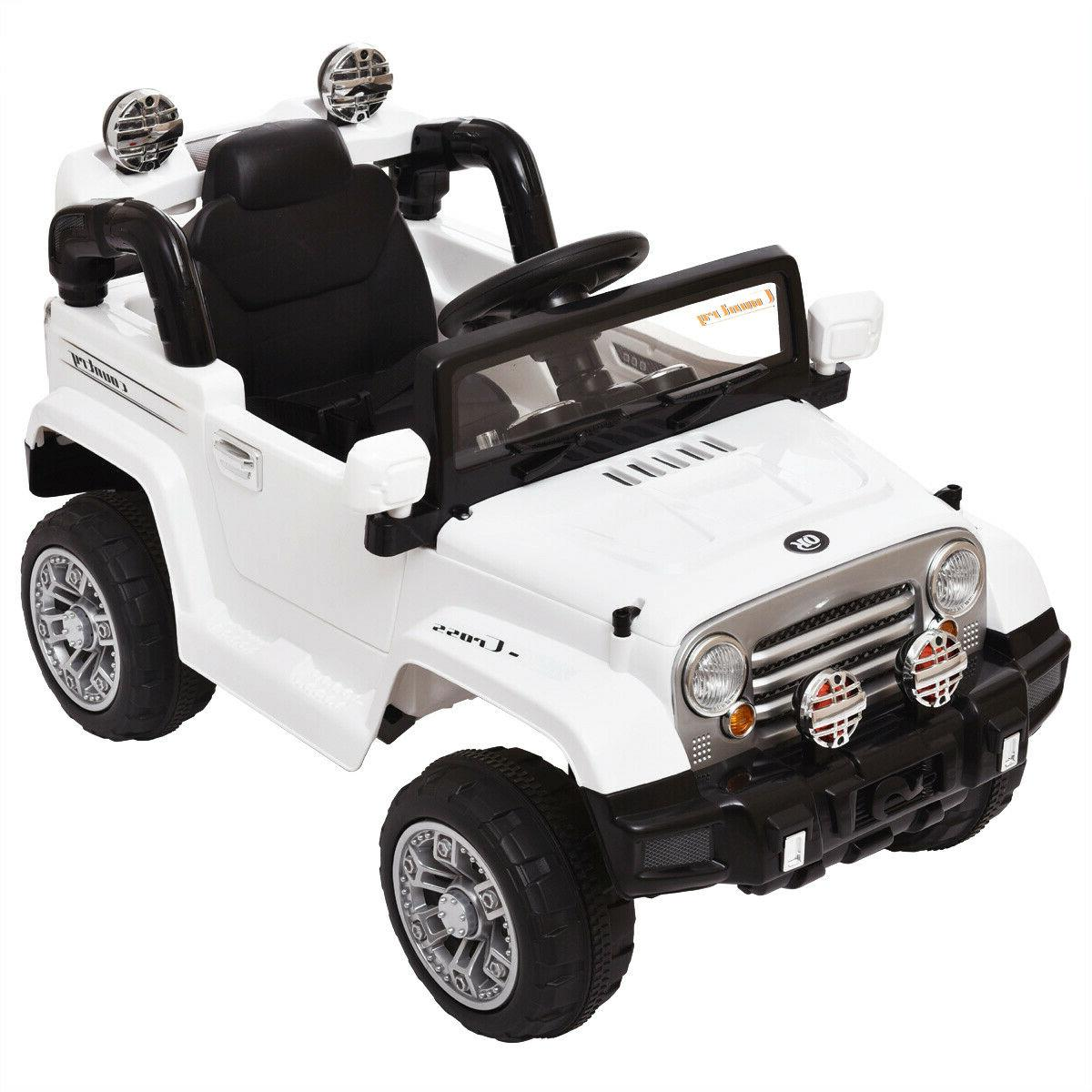 12V Kids Ride On Car Battery Power Wheels Truck Remote Contr
