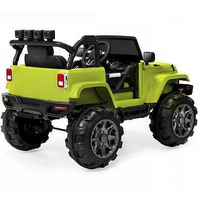 12V Kids Ride Jeep Car W/ Remote 3 Spring