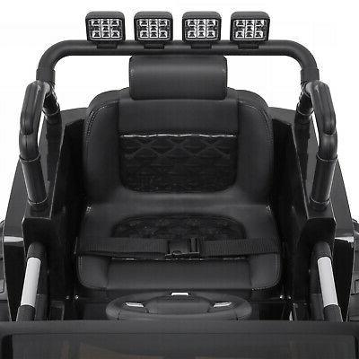 12V Kids Ride Jeep Remote 3 Speeds, Spring Suspension