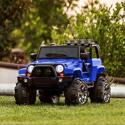 12V Kids Jeep Truck W/ Spring