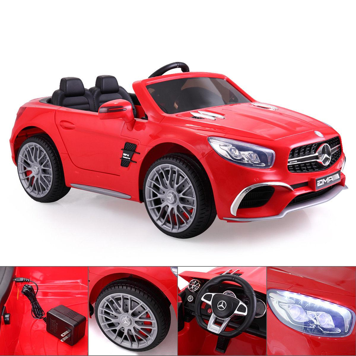 12V Kids On Mercedes Benz Remote Control RC