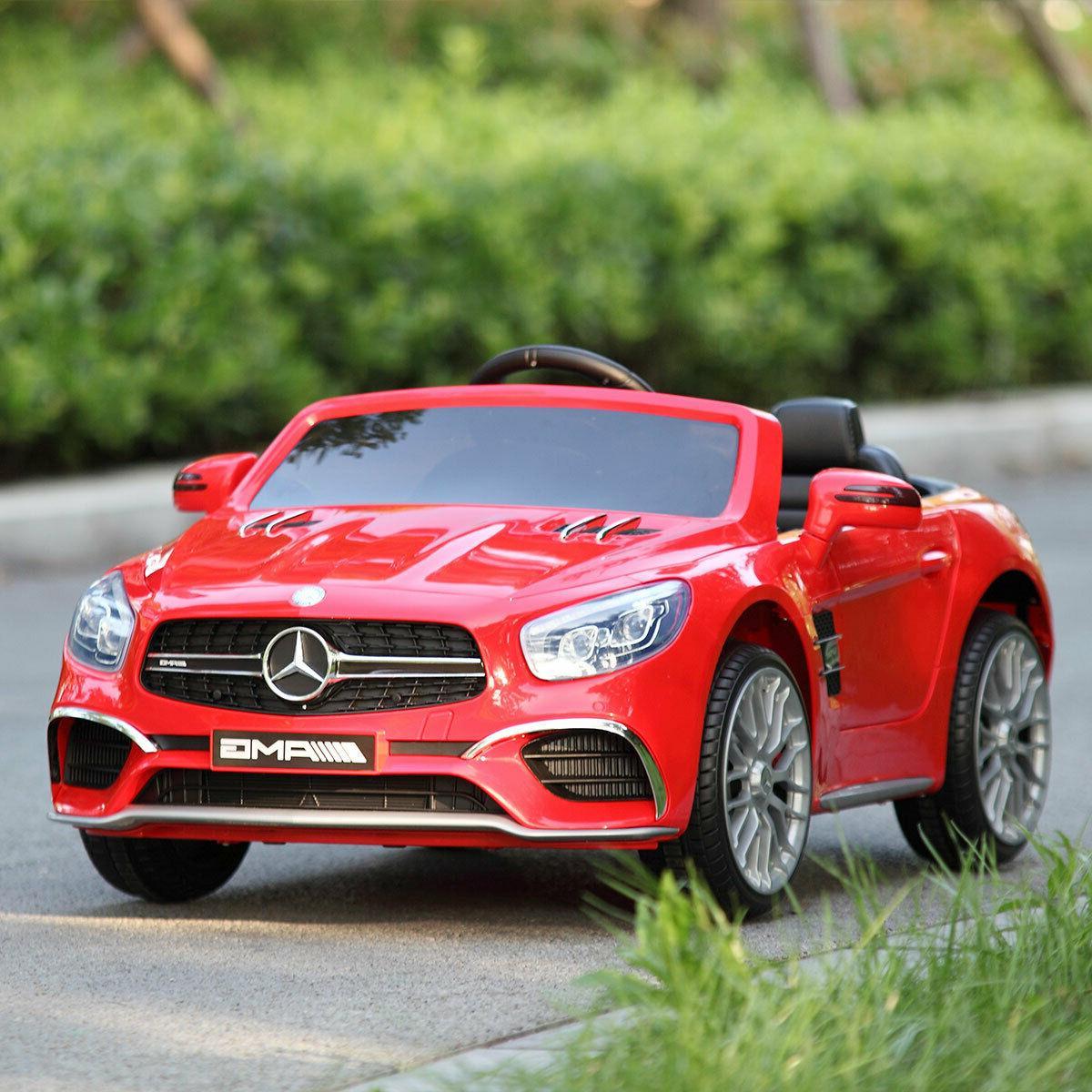 Electric Kids Ride On Car Licensed Mercedes Benz 12V 3 Speed