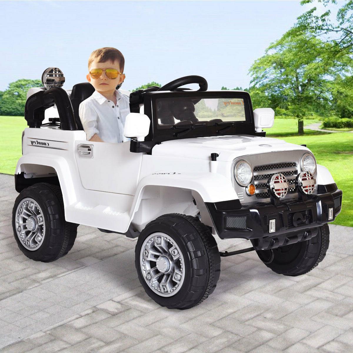 12V MP3 Car Truck Ride W/ LED White
