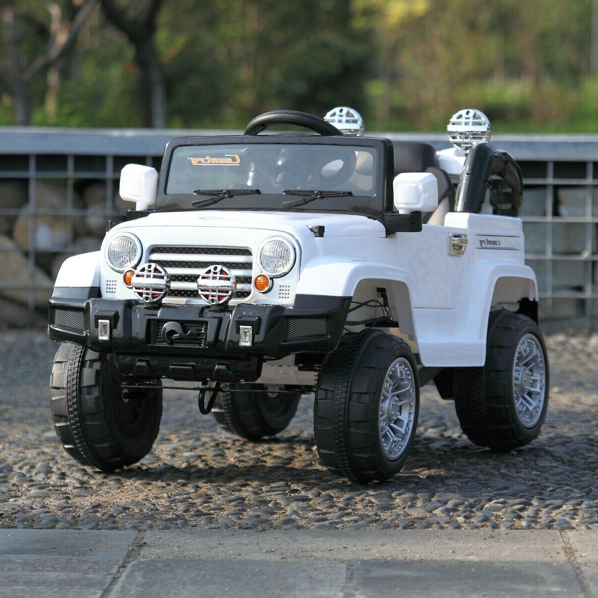 12v mp3 battery jeep car truck remote
