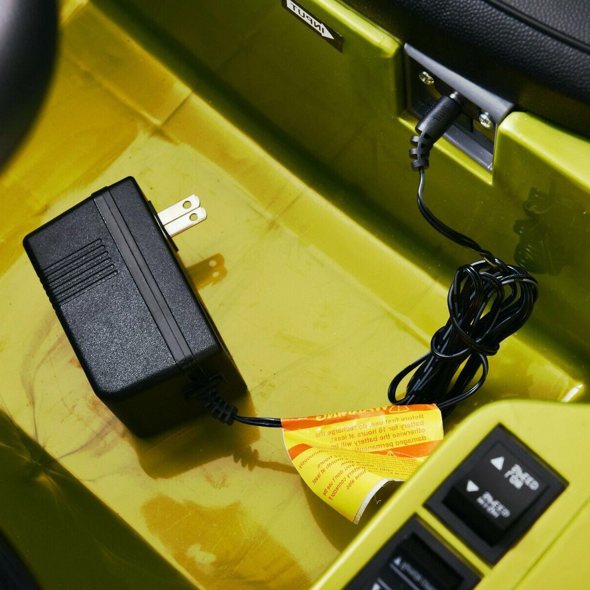 12V MP3 RC Battery Power Wheels Jeep W/