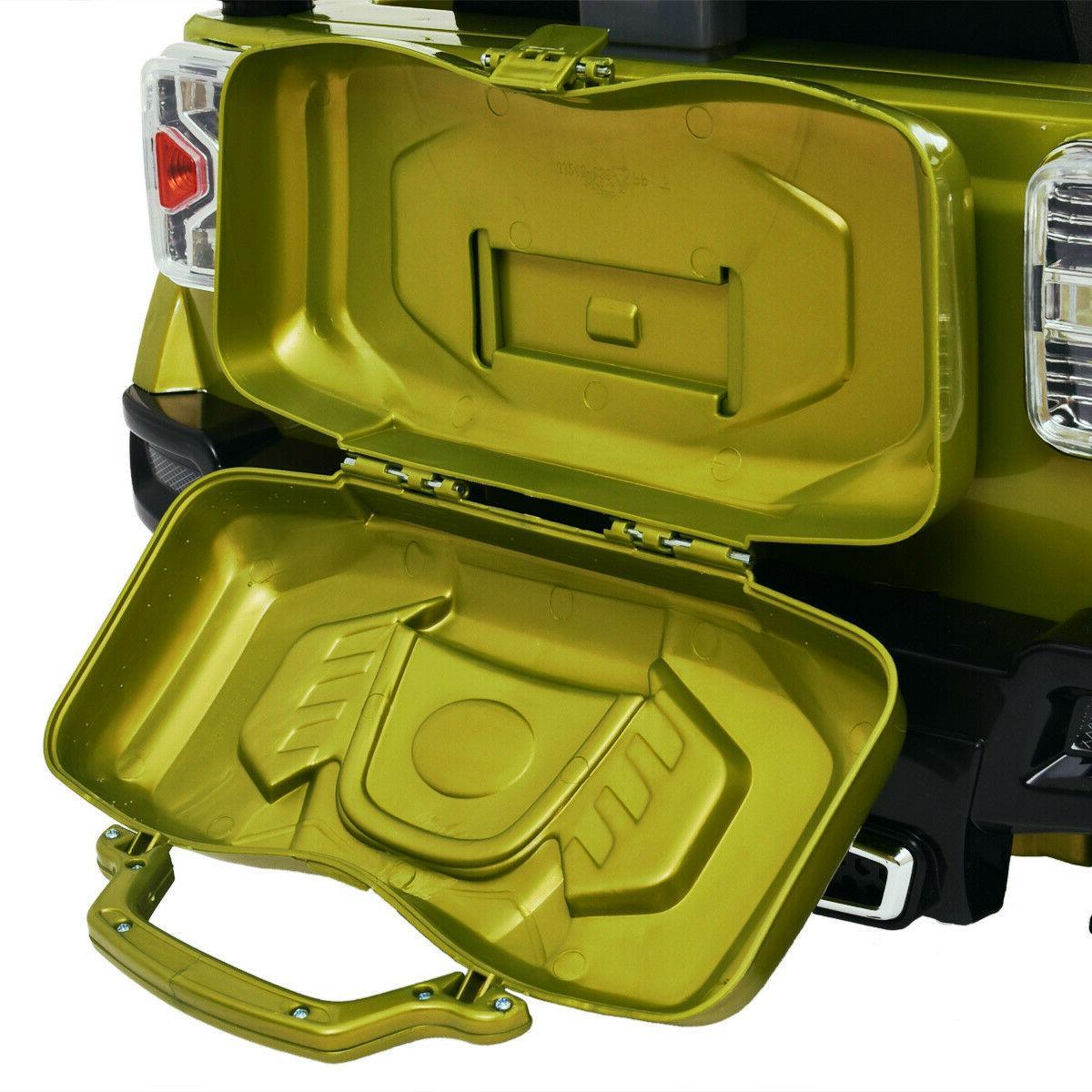 12V RC Power Wheels Truck Kids W/ LED Green