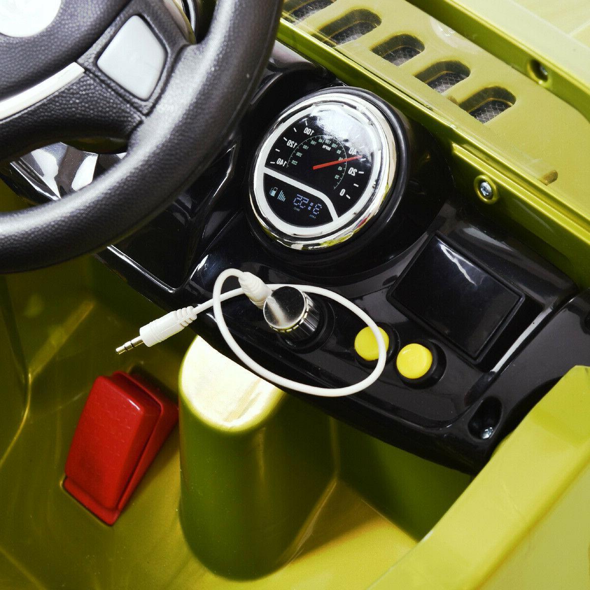 12V RC Power Wheels Truck Kids W/