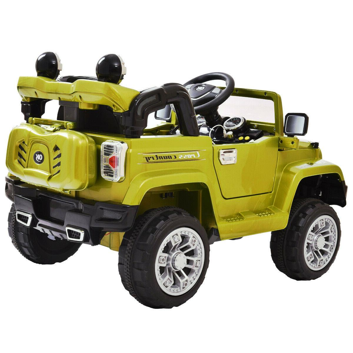 12V Power Wheels Car Truck Kids W/ Green