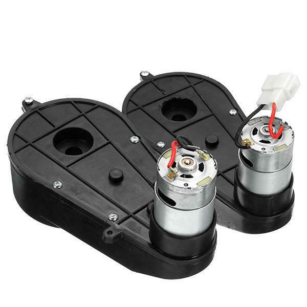 12V Power Wheels and Motor for Ride Toys Pair For
