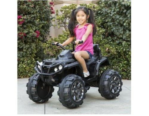 12v powered quad 4 wheeler atv