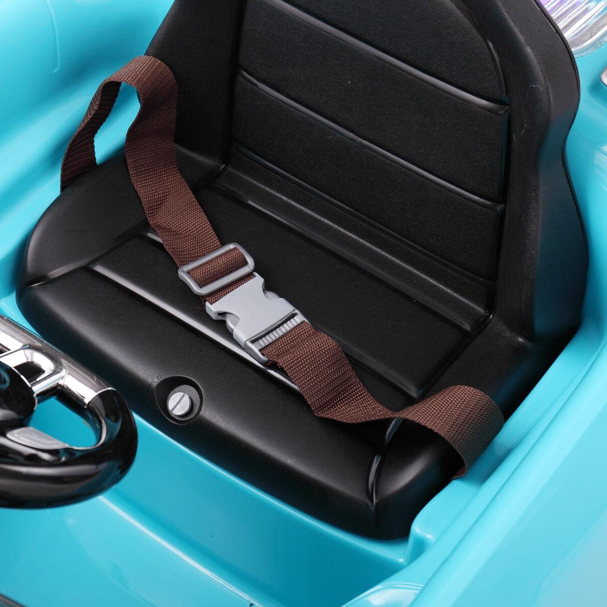 12V on Car Kids Control Electric Wheels W/MP3 Blue