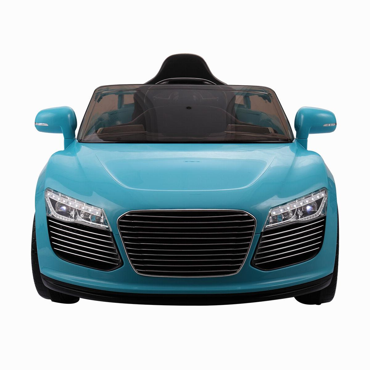 12V Ride on Kids RC Car Remote Control Power Wheels W/MP3