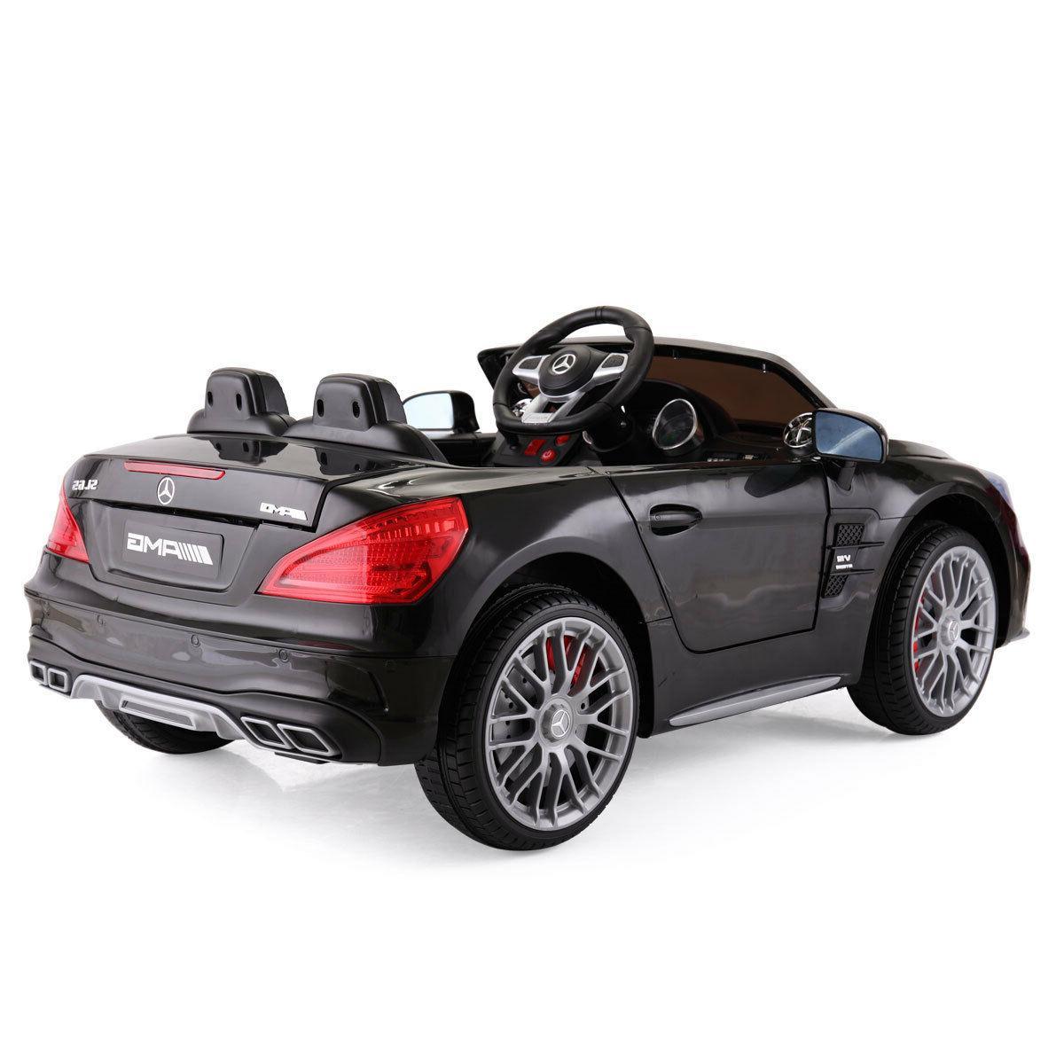 12V Mercedes Kids Ride With Black