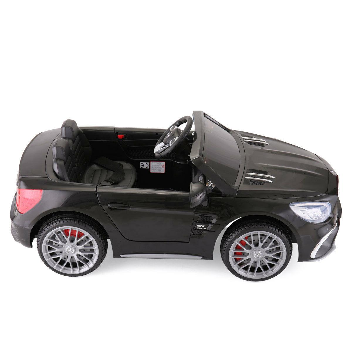 12V Mercedes Benz Kids On With Remote Control Black