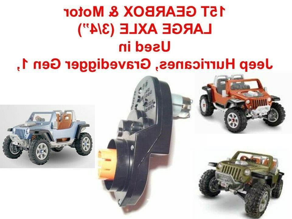 15t large axle hole power wheels jeep
