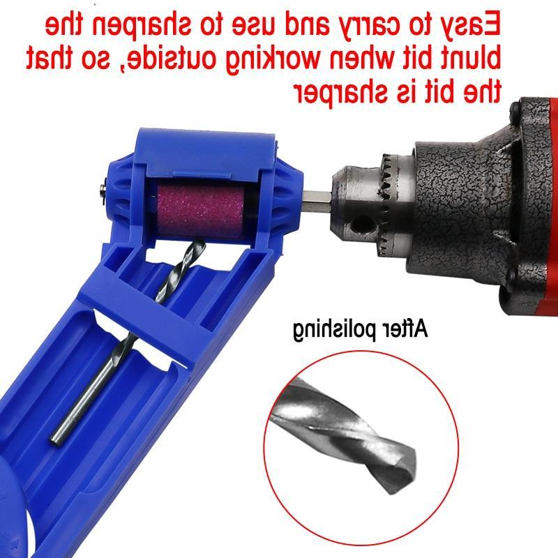 1set Drill Sharpener Drill Powered Tool Parts