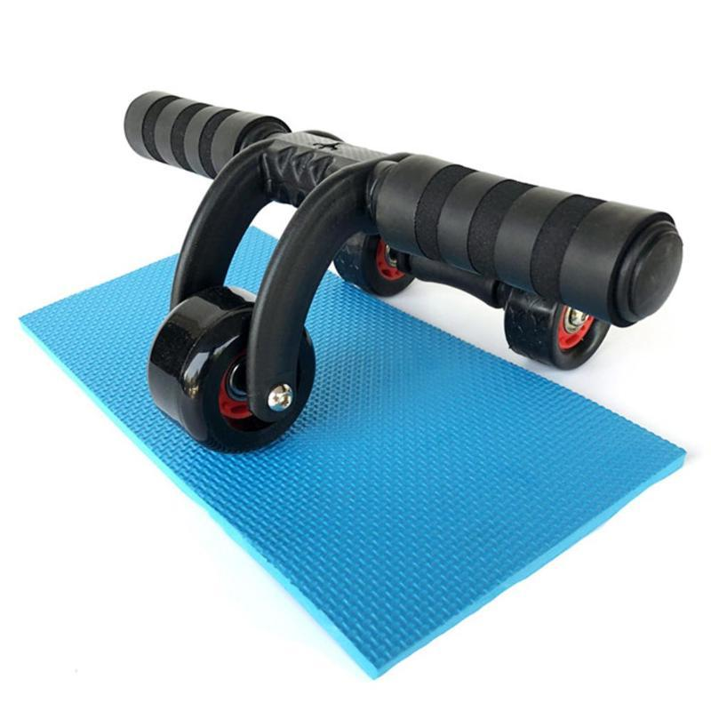 3 Triple AB Abs Workout Gym Pad Abdominal Rope