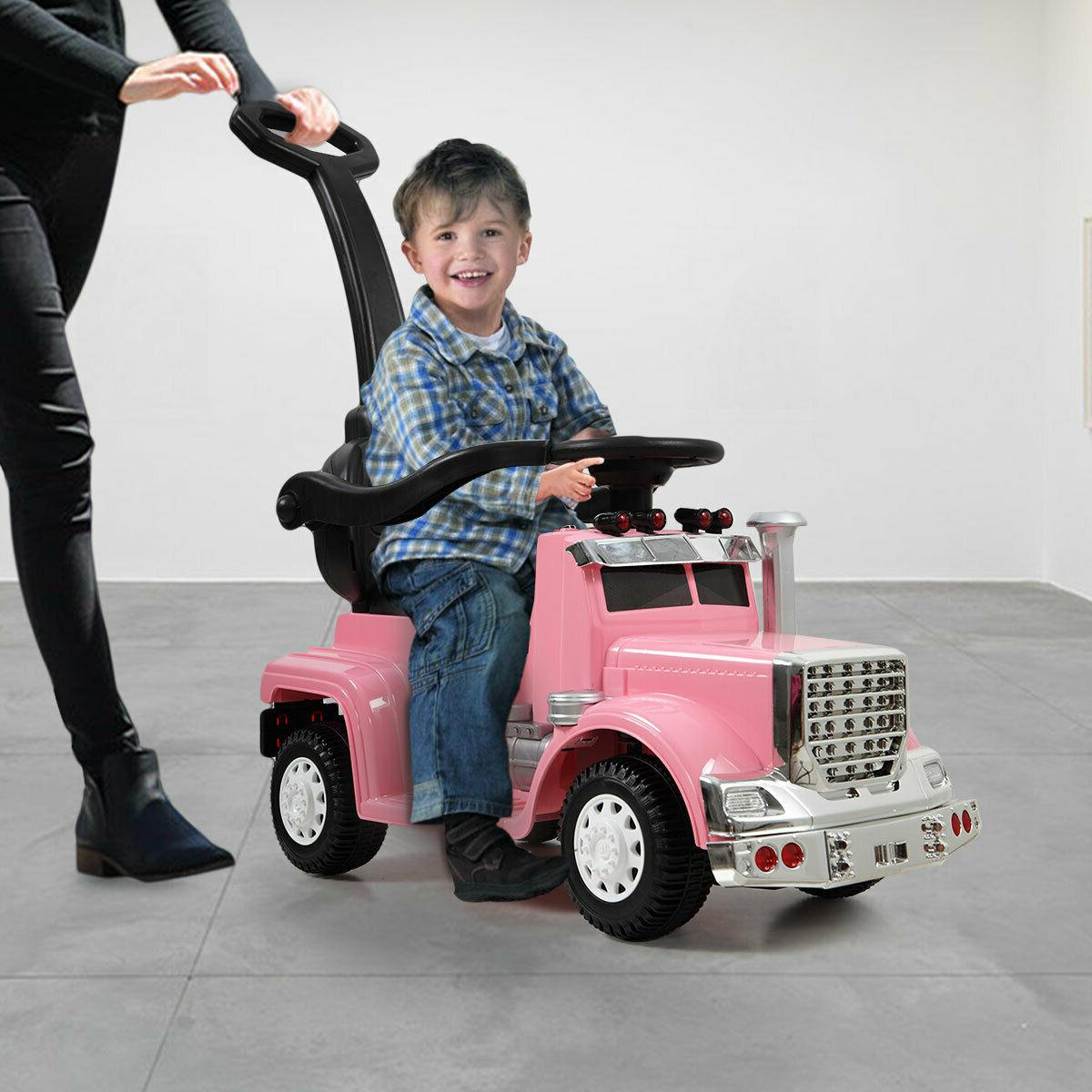 1-3 age Kids Ride On Push Car Stroller Toddler Wagon w/ Hand