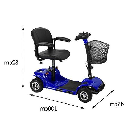 Simoner Wheels Power Folding Transportable Electric Scooter Including for Disabled Kids