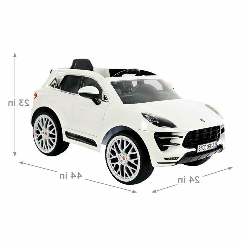 Rollplay Porsche Macan Ride Battery-Powered Kid's Car