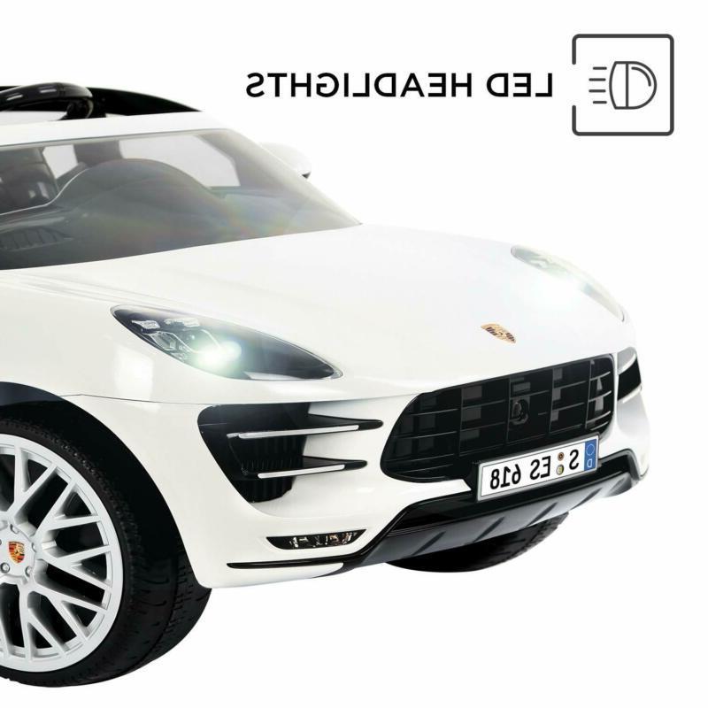 Rollplay Volt Porsche Macan Ride Battery-Powered Car