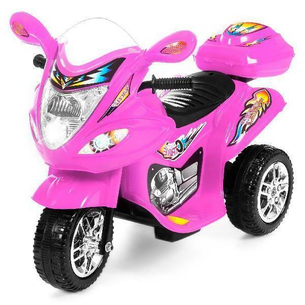 6v kids battery powered electric 3 wheel
