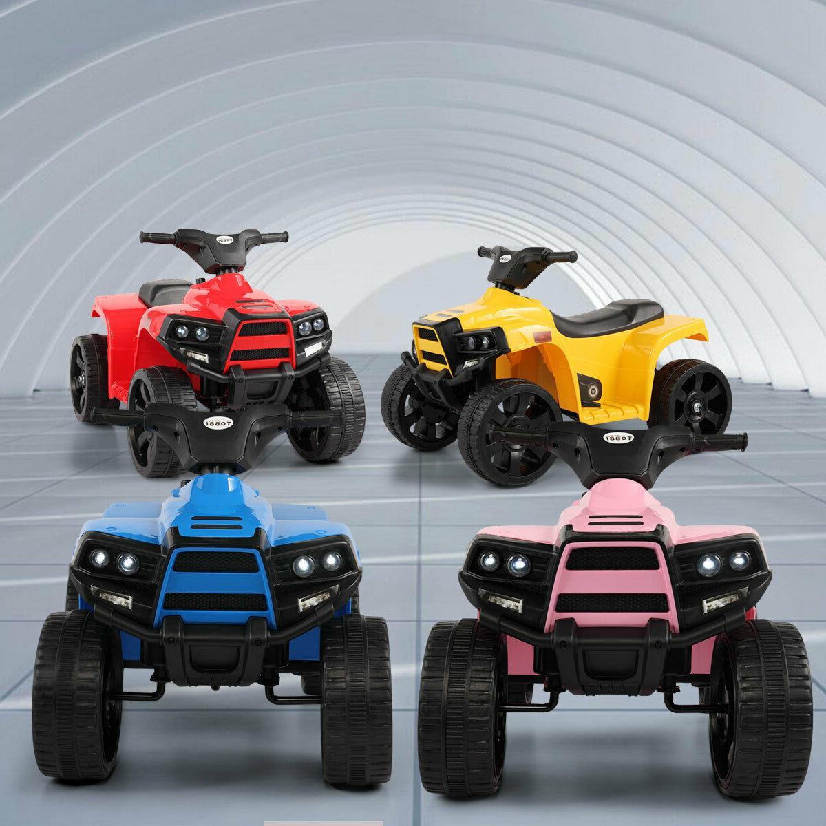 Electric Kids On ATV Quad 6V Battery 4-Wheel Car