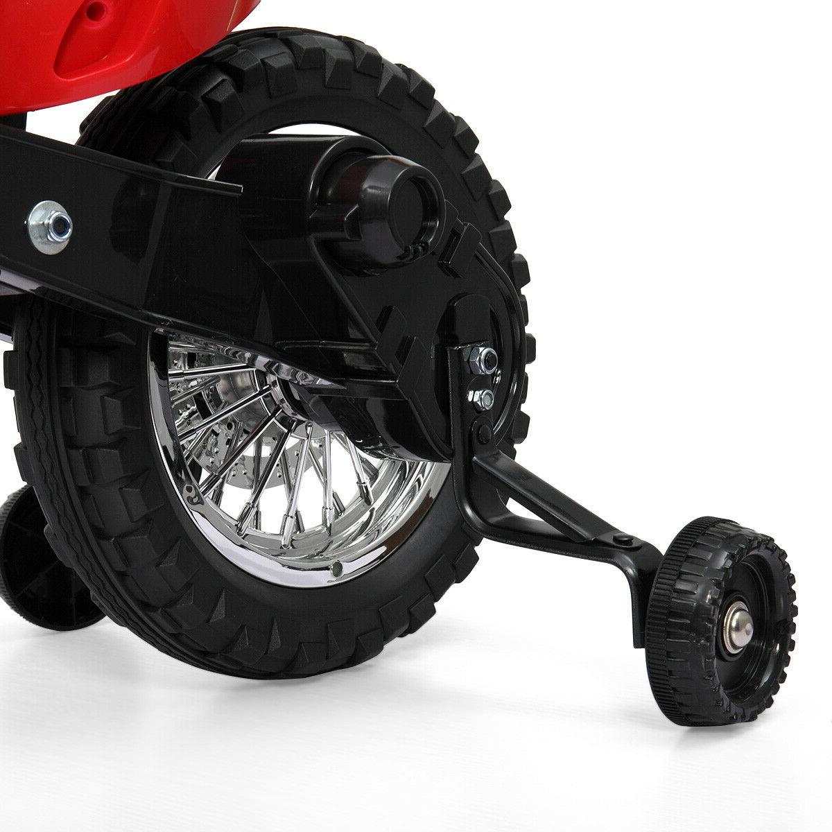 6V On Motorcycle w/ Training New